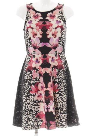 H&M Pinafore dress animal pattern casual look