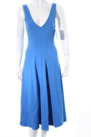 H&M Trägerkleid blau klassischer Stil