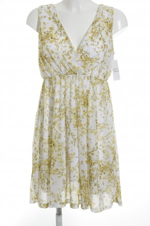 H&M Pinafore dress flower pattern casual look
