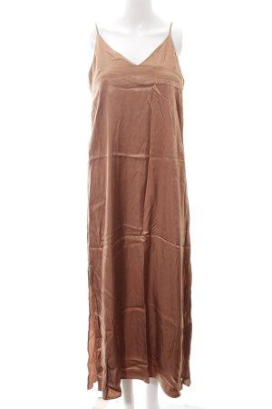 H&M Trägerkleid bronzefarben Elegant