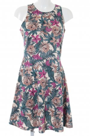 H&M Pinafore dress floral pattern casual look