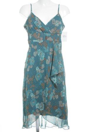 H&M Vestido tipo overol estampado floral look casual