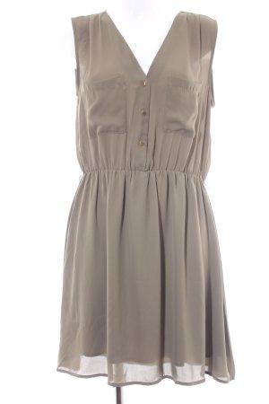 H&M Trägerkleid olivgrün Casual-Look