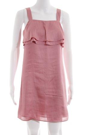H&M Trägerkleid rosa Romantik-Look