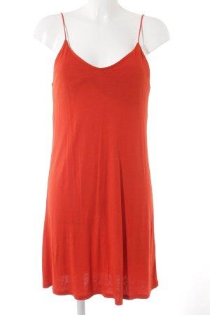 H&M Trägerkleid rot Casual-Look