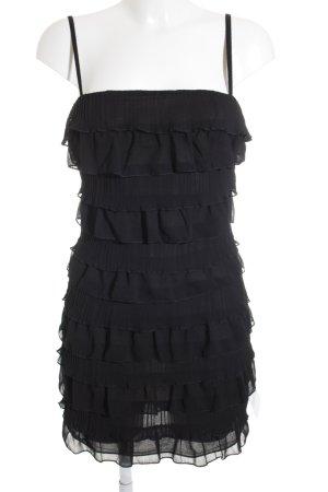 H&M Trägerkleid schwarz 20ies-Stil