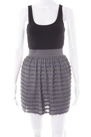 H&M Trägerkleid schwarz-grau Casual-Look