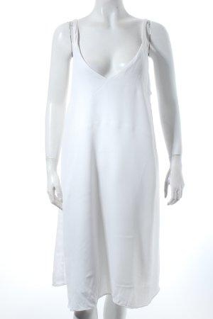 H&M Trägerkleid weiß Casual-Look