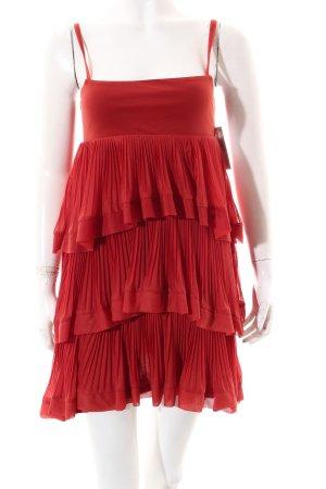 H&M Trägerkleid ziegelrot Gypsy-Look