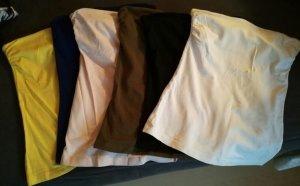 H&M trägerlose Tops in 6 farben Gr. XS