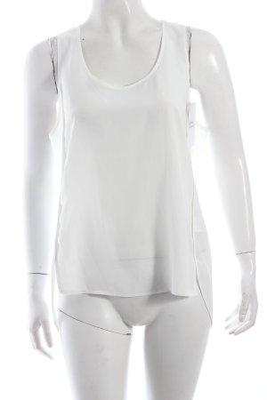 H&M Trägertop weiß Nude-Look