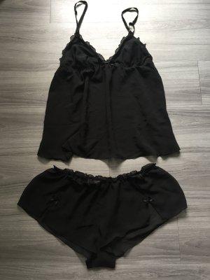 H&M transparente Homewear schwarz S
