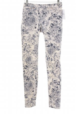 H&M Treggings flower pattern casual look