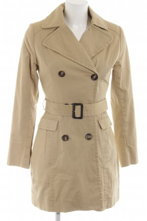 H&M Trenchcoat wollweiß Business-Look