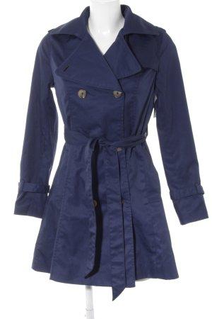 H&M Trenchcoat blau Casual-Look