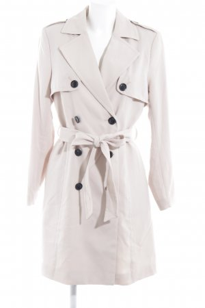 H&M Trenchcoat creme Business-Look