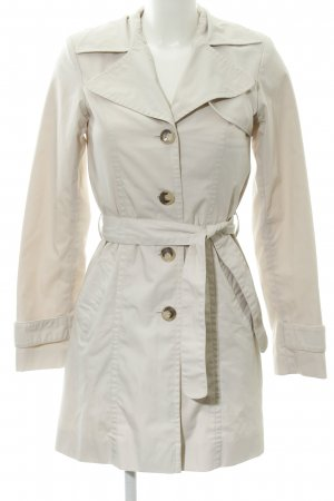 H&M Trenchcoat creme-hellbeige Business-Look