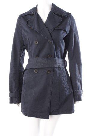 H&M Trenchcoat dunkelblau