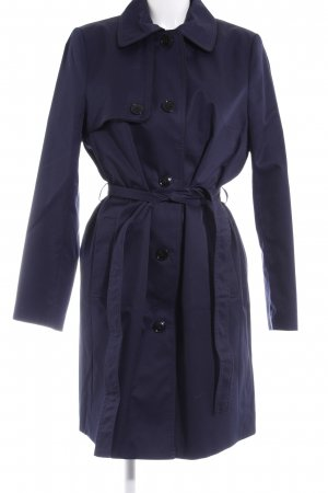 H&M Trenchcoat dunkelblau Business-Look