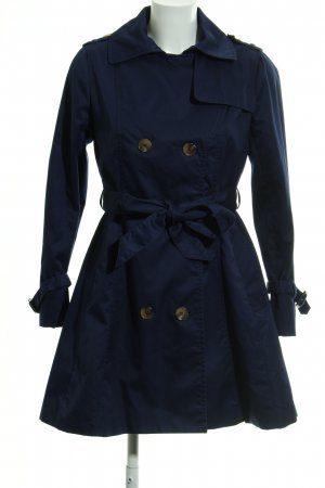 H&M Trenchcoat bleu foncé style décontracté