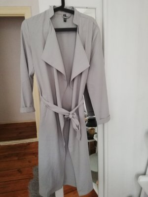 H&M Trench grigio chiaro