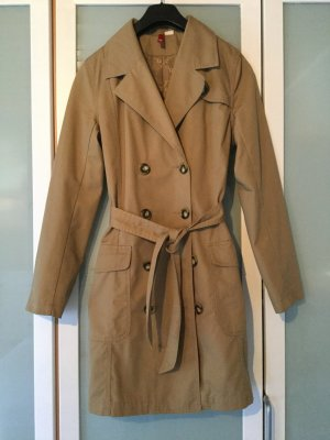 H&M - Trenchcoat in braun.