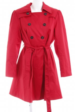 H&M Trenchcoat rood casual uitstraling