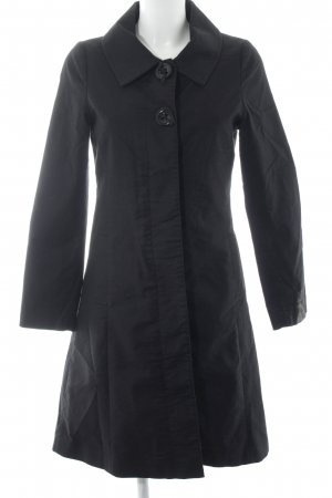 H&M Trenchcoat schwarz Business-Look