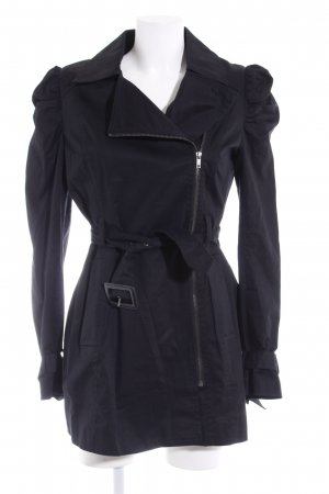 H&M Trenchcoat schwarz Business-Look