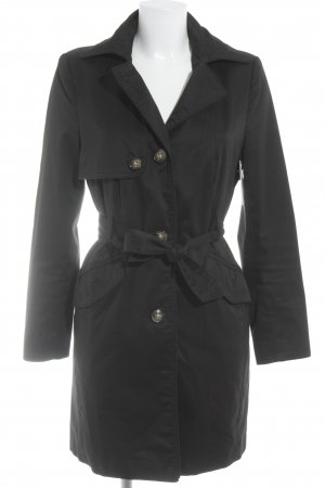 H&M Trench Coat black classic style