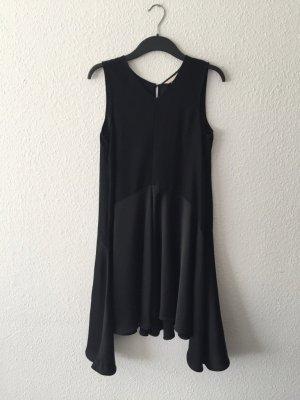 H&M Trend ärmelloses A-Linien Kleid schwarz 36