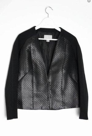 H&M Trend Blazer Jacke Schwarz
