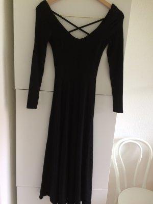 H&M Robe en jersey noir