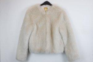 H&M Trend Fake Fur Jacke Gr. S (18/9/043)