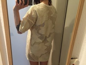 H&M Trend gehäkeltes Kleid Tunika neu!