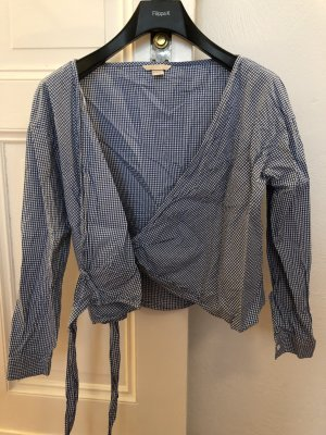 H&M Trend Gingham Bluse 34