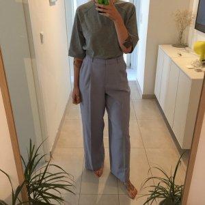 H&M Trend High Waist Wideleg Hose Stoffhose weite Beine mit Bügelfalte