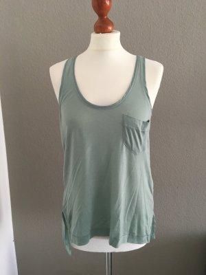 H&M Trend hübsches Top mint pastell grün S 36