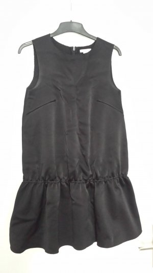 H&M Peplum jurk zwart Viscose