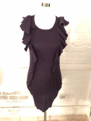 H&M Robe courte violet foncé
