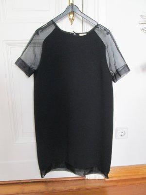 H&M Trend Kleid mit transparenten Ärmeln Gr. 36