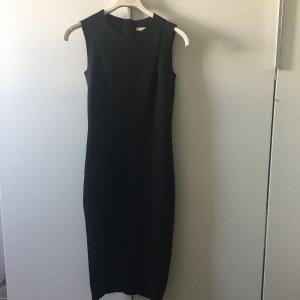 H&M Trend Kleid Partykleid Cocktailkleid eng midi schwarz 34