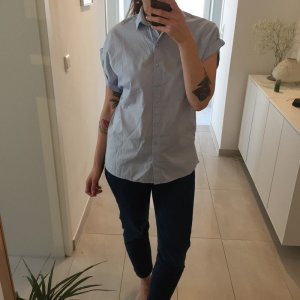 H&M Short Sleeve Shirt azure