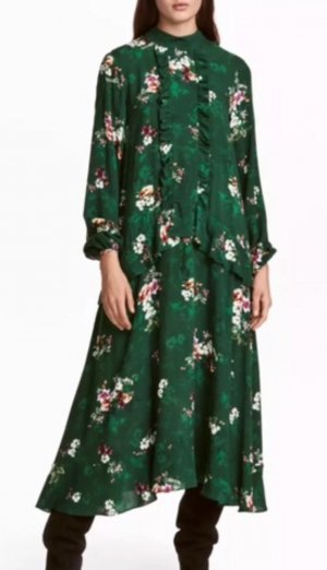 H&M Robe longue multicolore