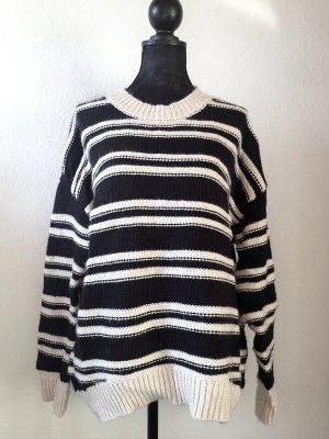 H&M Trend Pullover Streifen