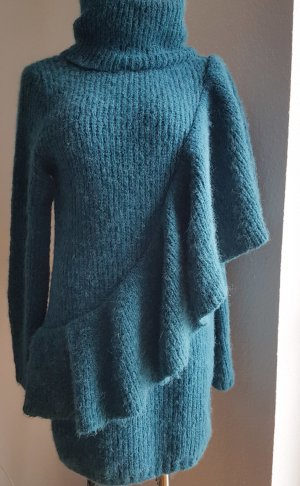 H&M Sweater Dress petrol-dark green