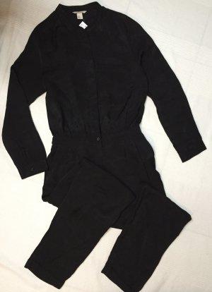 H&M Trend schwarzer Jumpsuit Gr. 40 neu mit Etikett