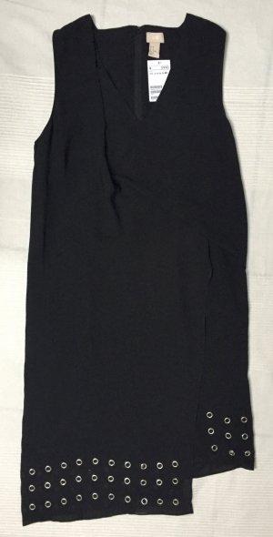 H&M Trend schwarzes Partykleid mit Nieten Gr. 40 - Neu mit Etikett!