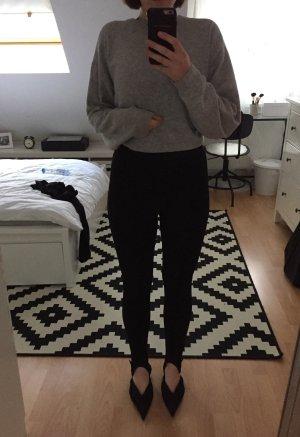 H&M Leggings black-silver-colored