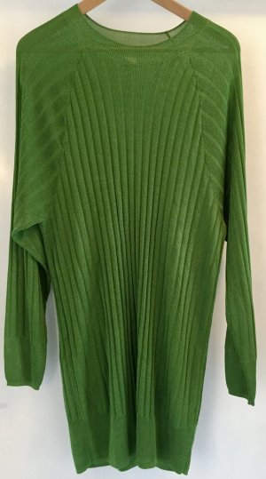 H&M Sweater Dress green-grass green
